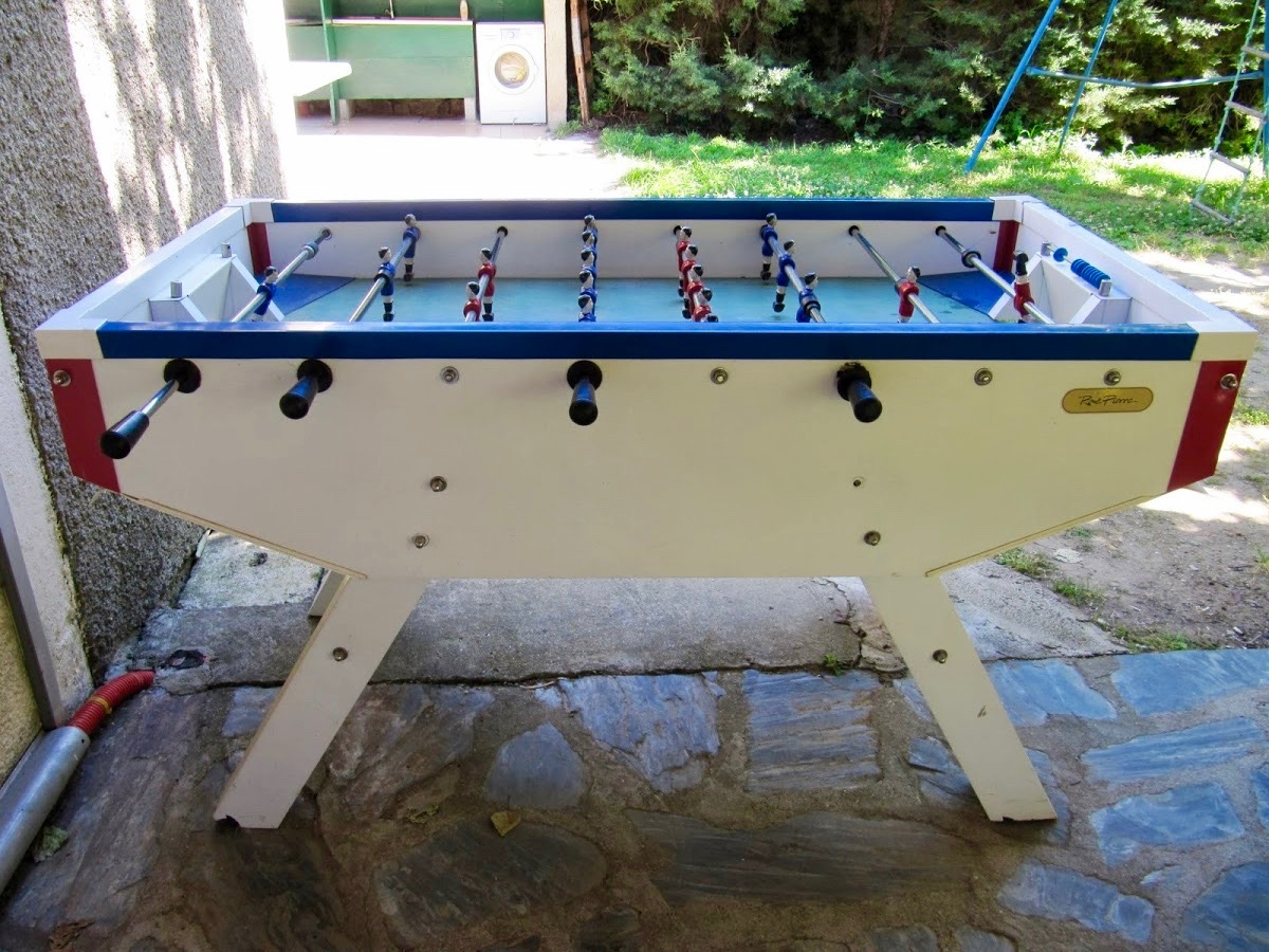Baby foot camping le Petit Baigneur