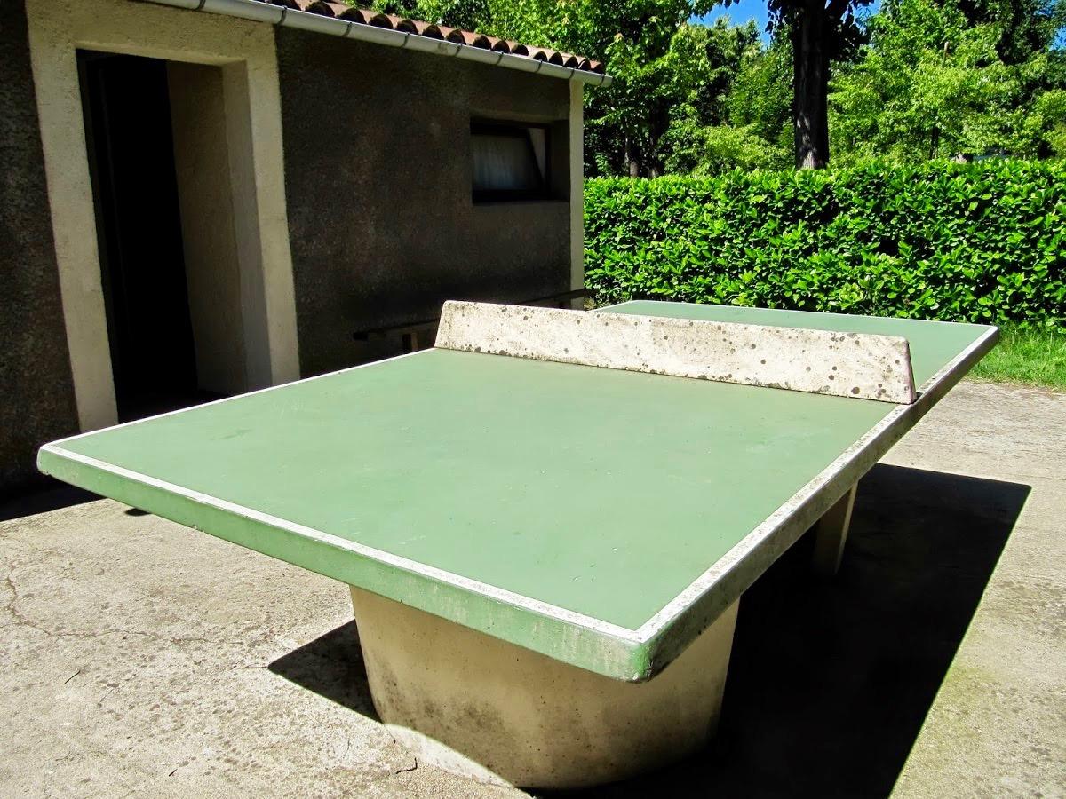 Table de ping pong camping le Petit Baigneur